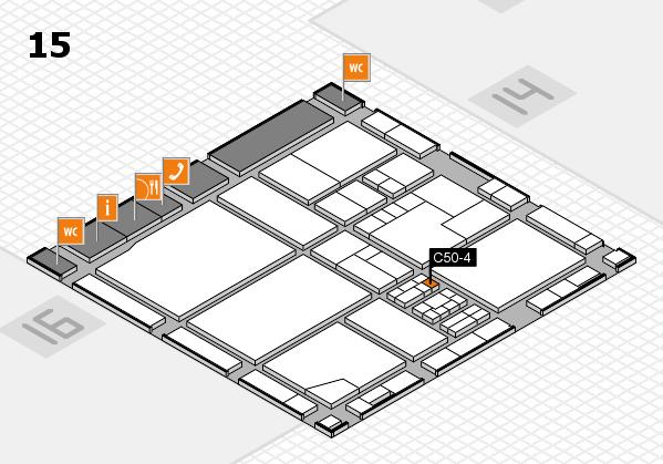 drupa 2016 Hallenplan (Halle 15): Stand C50-4