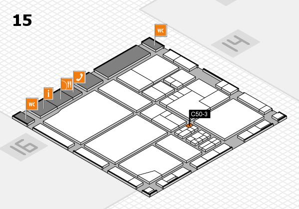 drupa 2016 Hallenplan (Halle 15): Stand C50-3