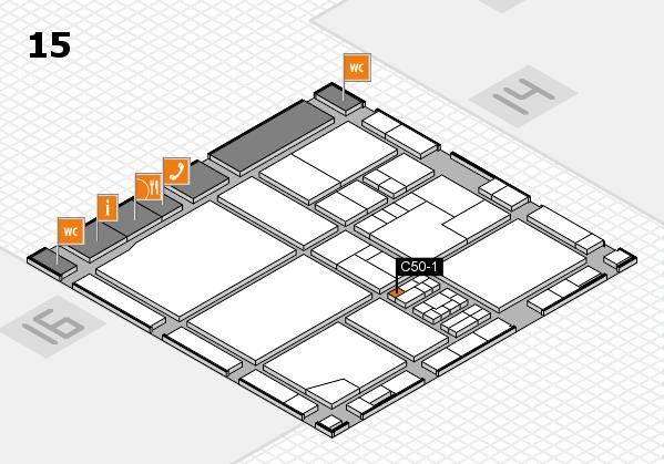 drupa 2016 Hallenplan (Halle 15): Stand C50-1