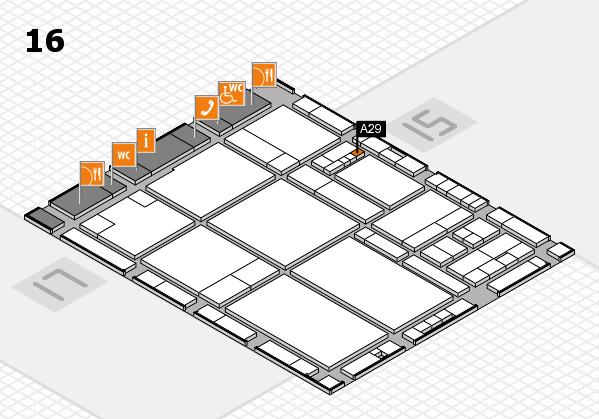drupa 2016 hall map (Hall 16): stand A29