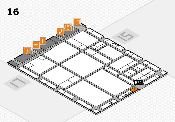 drupa 2016 hall map (Hall 16): stand B79