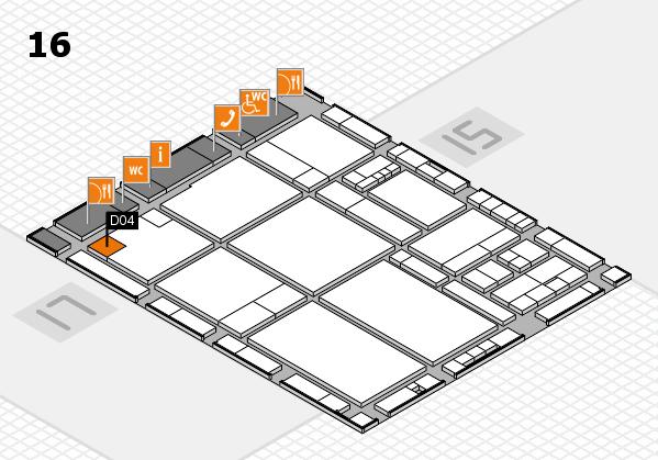drupa 2016 hall map (Hall 16): stand D04