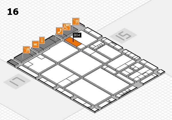 drupa 2016 hall map (Hall 16): stand B04