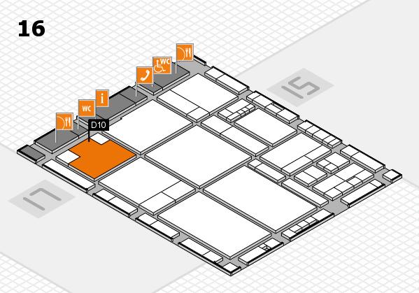 drupa 2016 hall map (Hall 16): stand D10