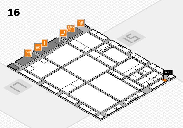 drupa 2016 hall map (Hall 16): stand A79