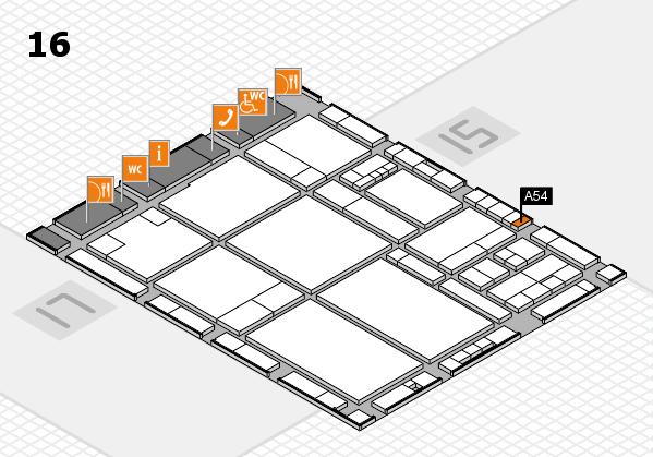 drupa 2016 hall map (Hall 16): stand A54
