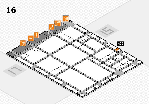 drupa 2016 hall map (Hall 16): stand A52