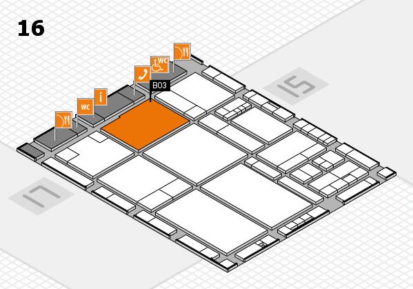 drupa 2016 hall map (Hall 16): stand B03