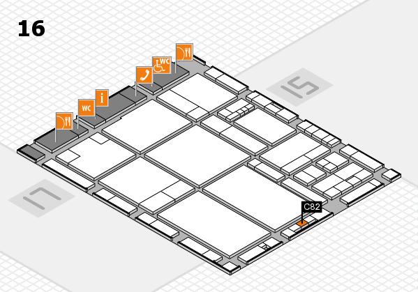 drupa 2016 hall map (Hall 16): stand C82