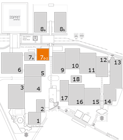drupa 2016 fairground map: Hall 7