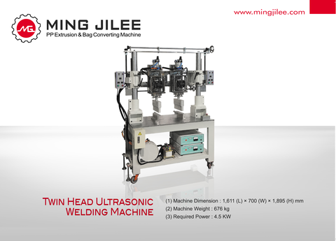 2.6 KW Ultrasonic Welding Device