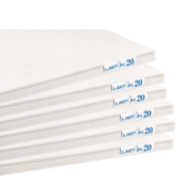 White Cardboard Sheet Package - Product Image
