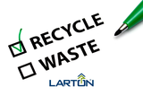 blog 6 banner recycling of waste paper by larton packaging with relieve mission