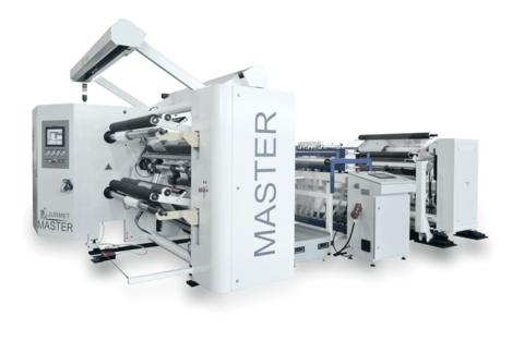 MASTER - Duplex-Schneidemaschine mit separatem Abwickler