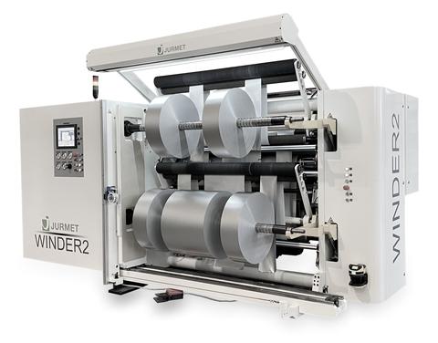 WINDER2 - kompakte Schneidemaschine mit integrierter Abrollstation