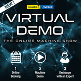 Virtual demo visual