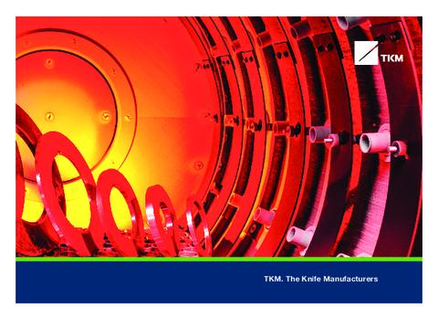 TKM Group - Imagebrochure