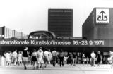 01 1971 Erste Messe in Stockum K 1971 credit Messe D sseldorf