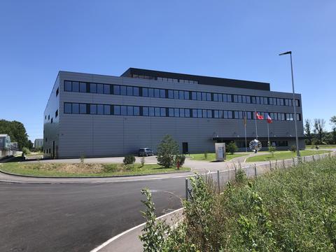 Lüscher`s new building