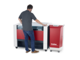 Speedy 400 Laser Engraver with CO2 cover and Atmos exhaust system