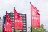 Key visual soft signage drupa flags