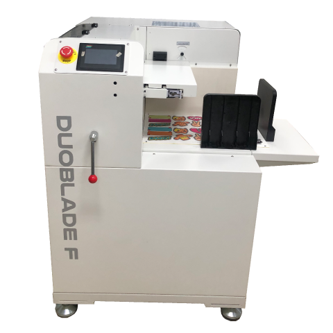 Automatischer digitaler Bogen-Etikettenschneider, DUOBLADE F