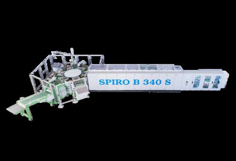 Automatische Bindemaschine für Einzelringbücher (Spiro B340 S)