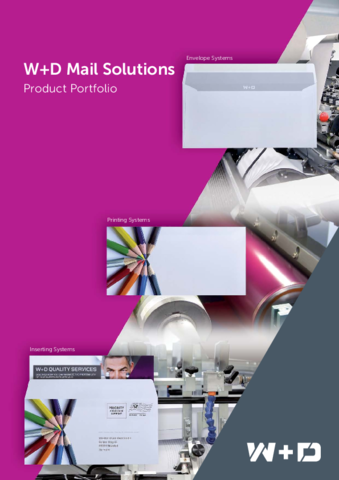 Product Portfolio Mail Solutions