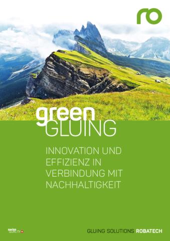 Robatech Green Gluing Broschüre