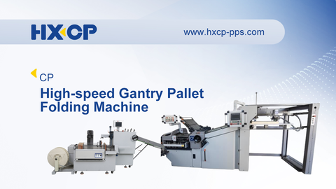 CP High-speed Gantry Pallet Folding Machine is mainly used for medium to large circulations as well as for large formats. The sheets on the pallet to be folded are run into the feeder by means of a pallet truck directly from the printing press with no manual intervention. All in all, the gantry pallet feeder provides high production capacity – with shortest interruptions for feeding by pallets. More precisely, you can transport the entire printed pallet from the delivery of the printing press into the feeder of the folder. The physical strain for the operator is low even if large signature formats have to be processed. The operator can concentrate on the quality of the folded products and comfortably unload the products. To get the best performance of the folder you need the correct delivery as well to make it a one man operation.