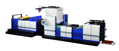 Automatische Kettenmesser-Folienkaschiermaschine