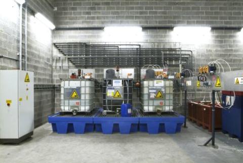 zentrale chemiestation