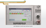 Pratham Superfold Outsert System Feature Jam Detection