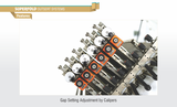 Pratham Superfold Outsert System Feature Gap Setting by Calipers