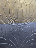 Paintable décor metal effects