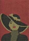 moteris su kepure Latex #2 (2)