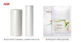 Premium ANTI-CURL Gloss Nylon Thermal Film