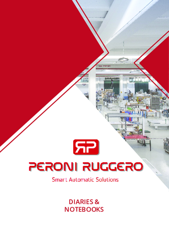 Peroni Ruggero - Machines for Diaries & Notebooks