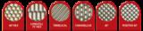 UltraCell Lasergravierte Rasterwalzen