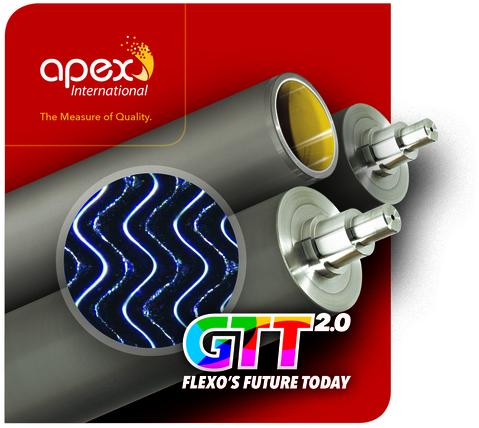 GTT Lasergravierte Rasterwalzen
